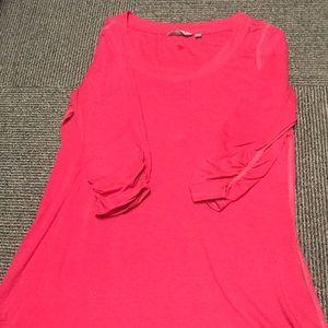 Athleta tunic cotton shirt